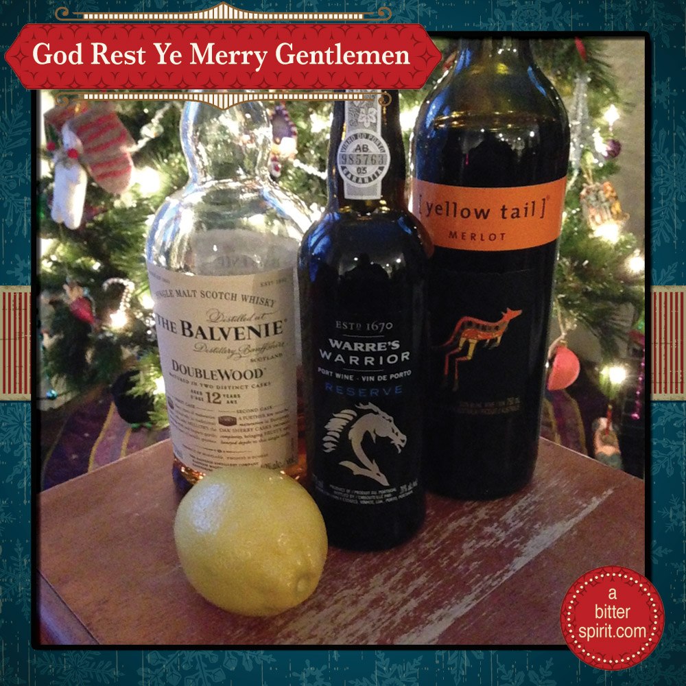 The God Rest Ye Merry Gentlemen Cocktail - ABitterSpirit.com