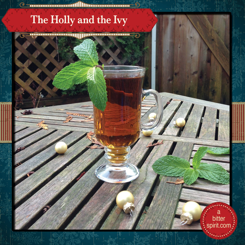 The Holly and the Ivy Cocktail (Hot Version) - ABitterSpirit.com