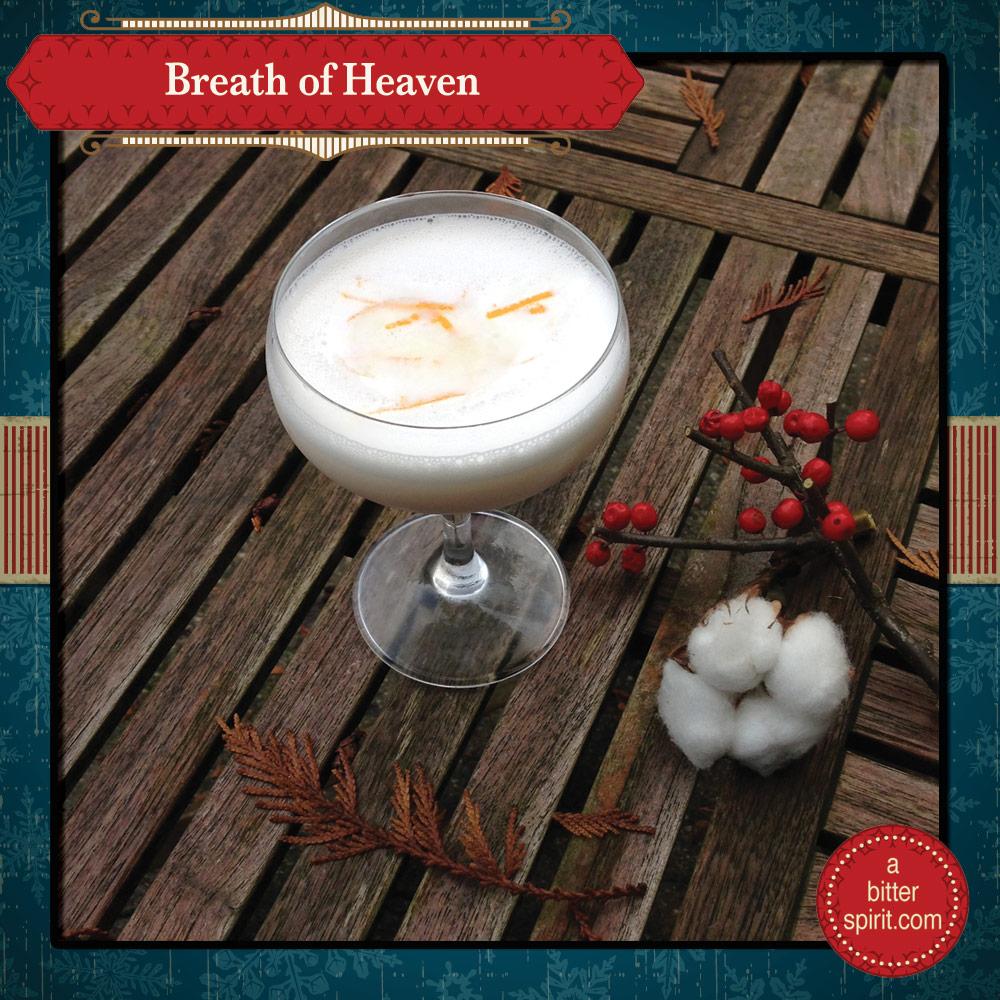 The Breath of Heaven Cocktail - ABitterSpirit.com