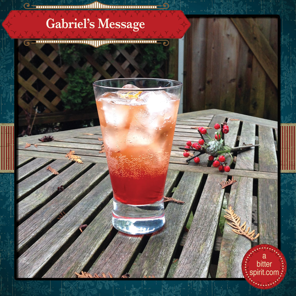 The Gabriel's Message Cocktail - ABitterSpirit.com
