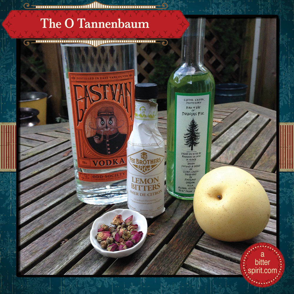 The O Tannenbaum Cocktail - ABitterSpirit.com