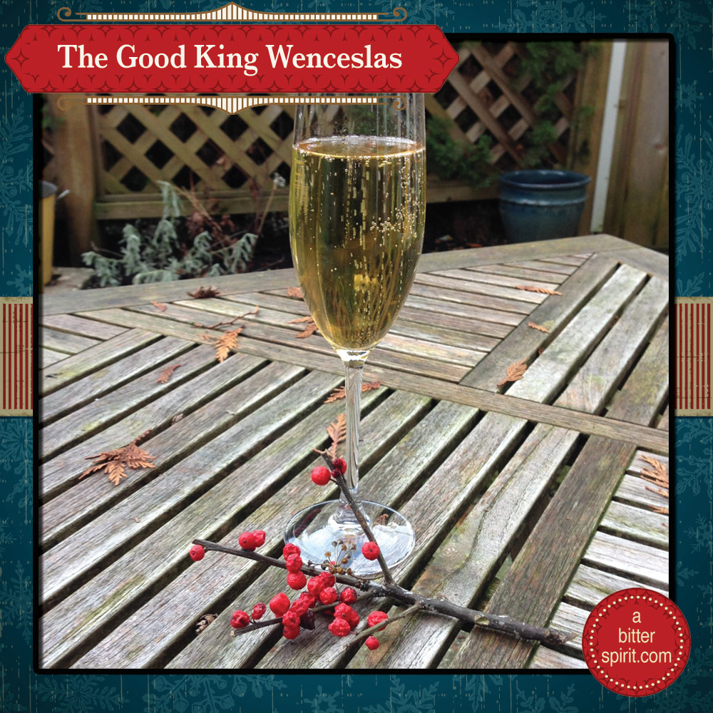 The Good King Wenceslas Cocktail - ABitterSpirit.com