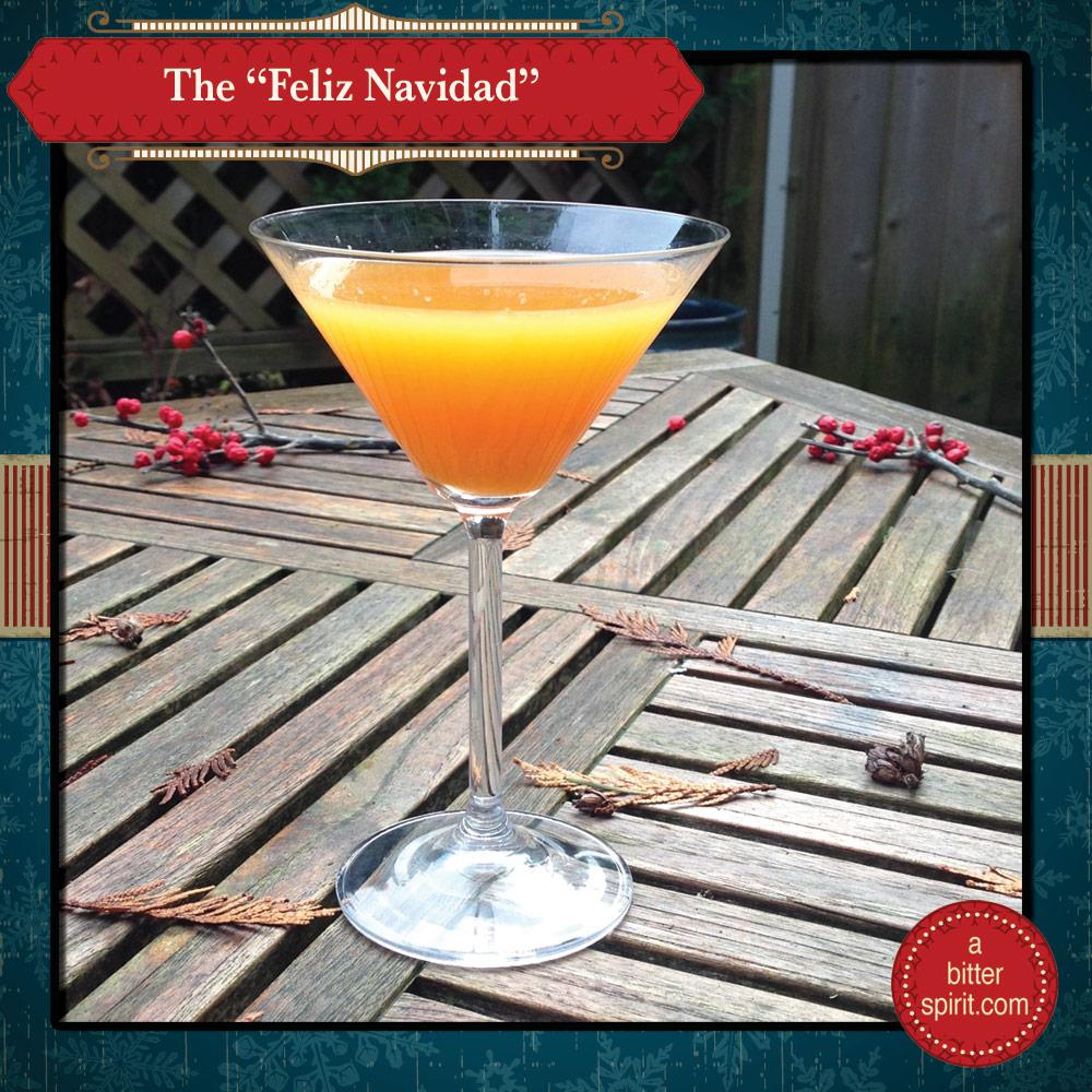 The Feliz Navidad Cocktail