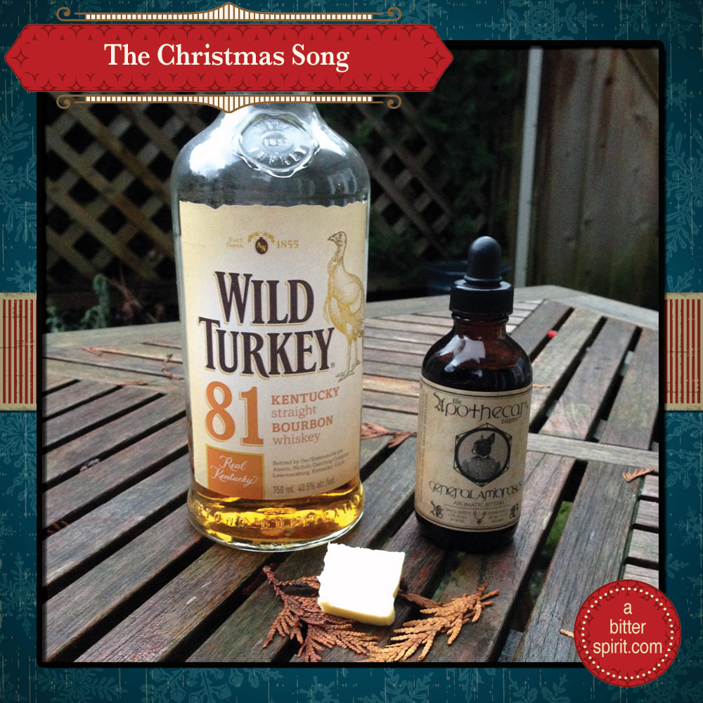 The Christmas Song Cocktail Ingredients - ABitterSpirit.com