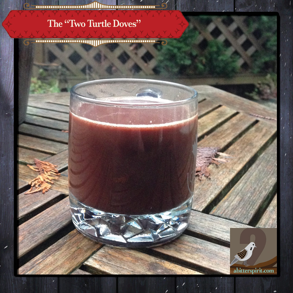The 'Two Turtle Doves' Cocktail - ABitterSpirit.com