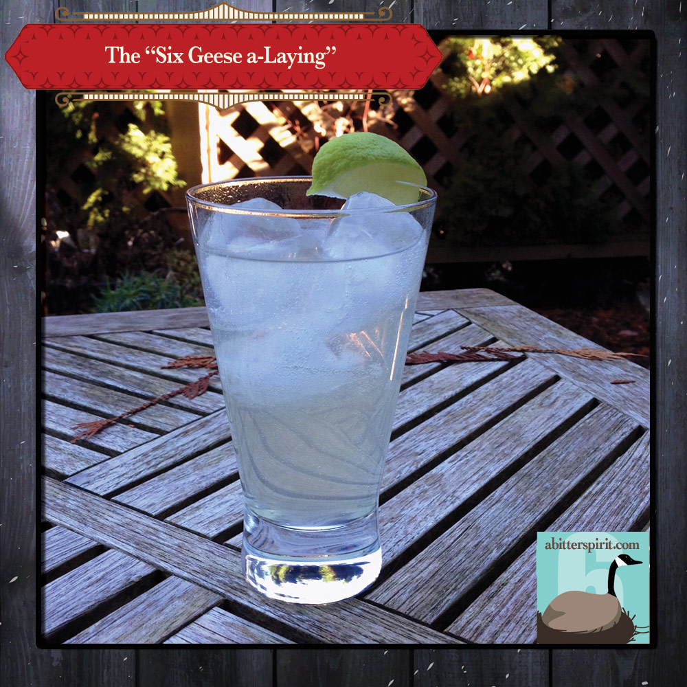 The 'TSix Geese a-Laying' Cocktail - ABitterSpirit.com
