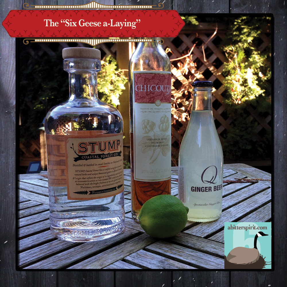 The 'Six Geese a-Laying' Cocktail Ingredients - ABitterSpirit.com