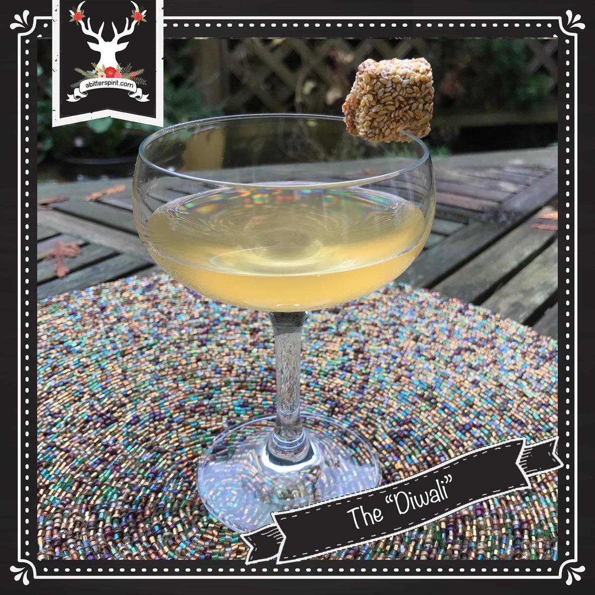 The 'Diwali' Cocktail - ABitterSpirit.com