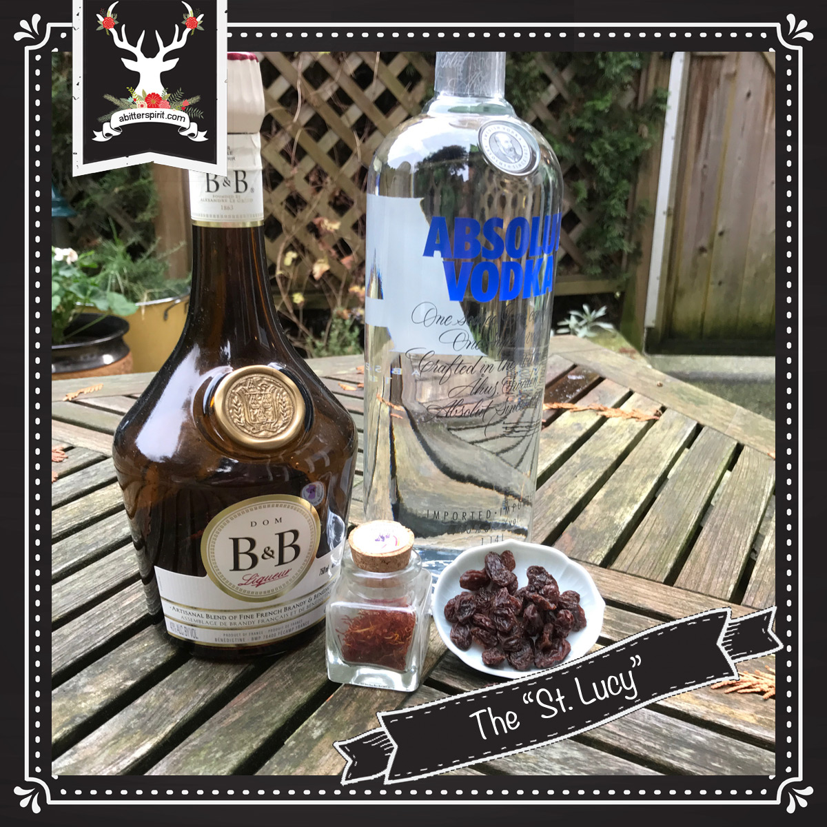 The 'St. Lucy' Cocktail Ingredients - ABitterSpirit.com