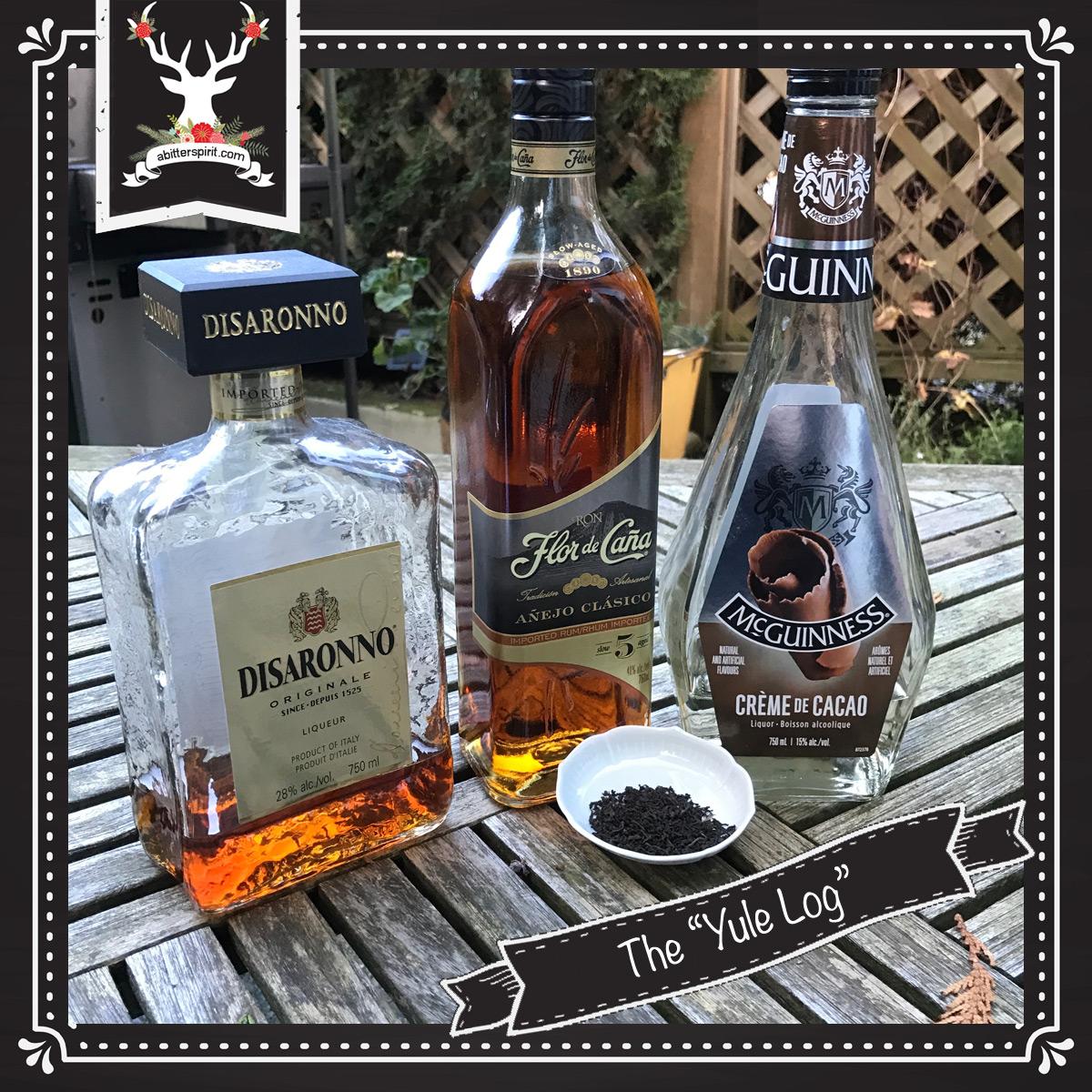 The 'Yule Log' Cocktail Ingredients - ABitterSpirit.com