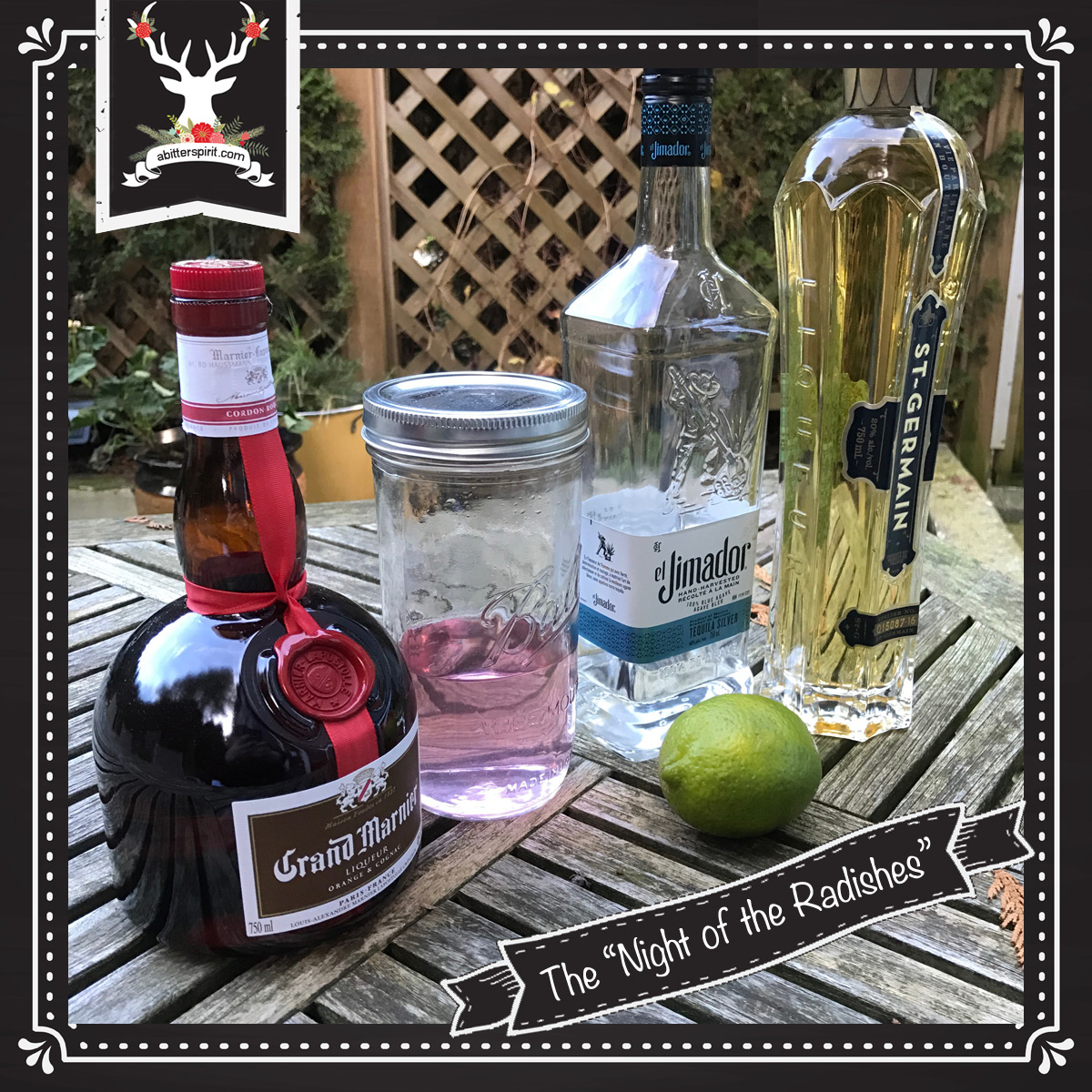 The 'Night of the Radishes' Cocktail Ingredients - ABitterSpirit.com