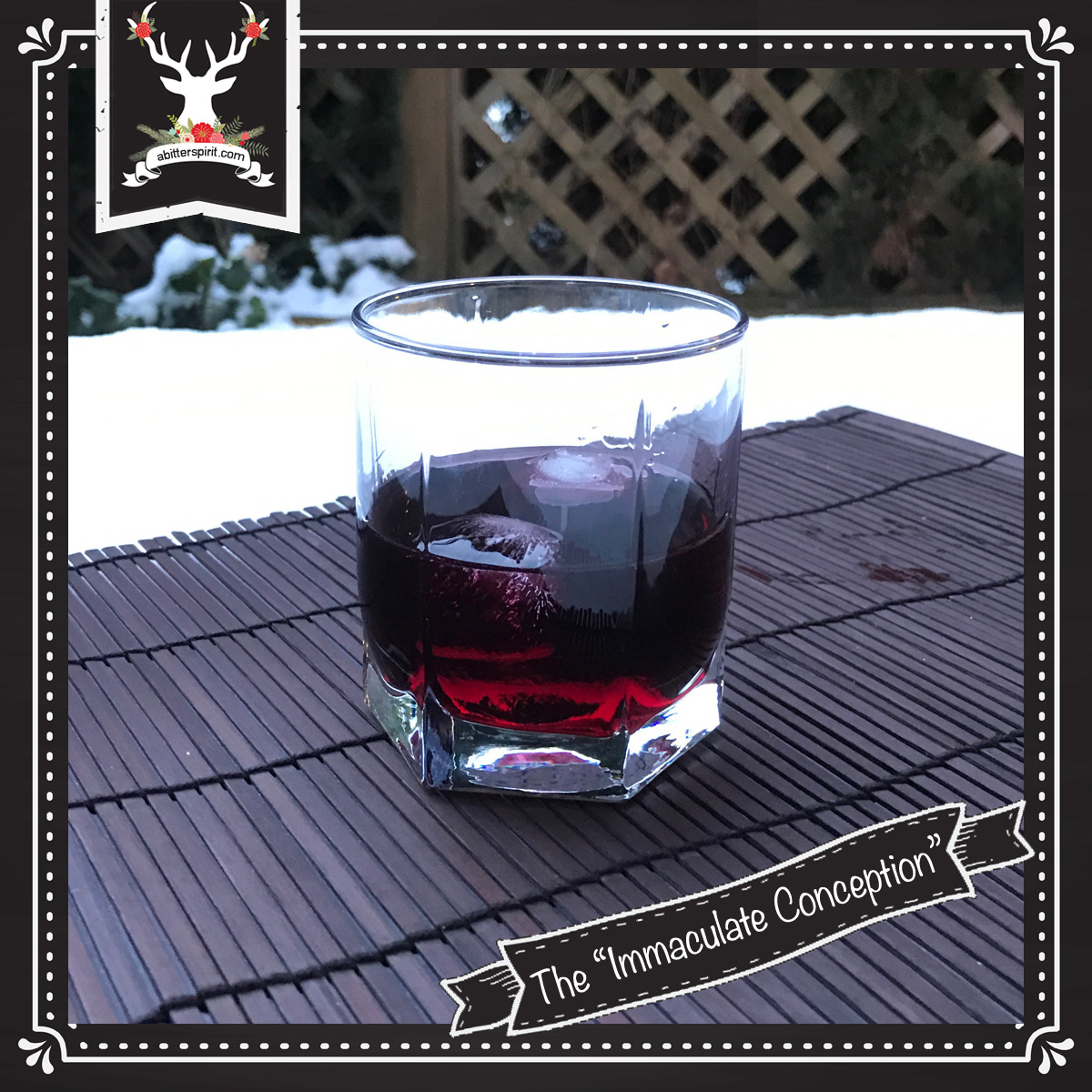 The 'Immaculate Conception' Cocktail - ABitterSpirit.com