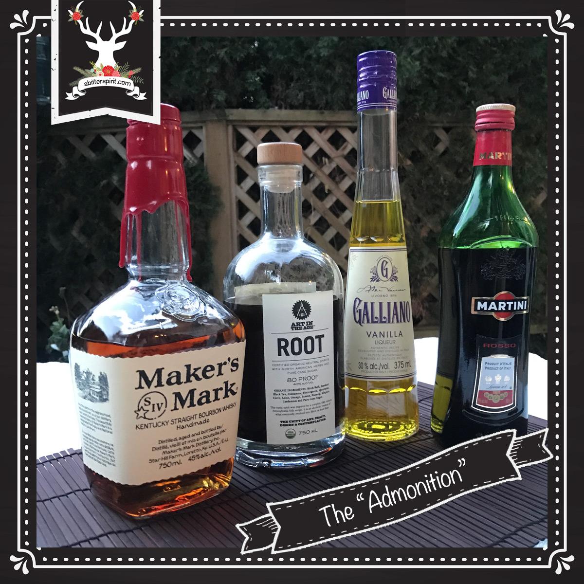 The 'Admonition' Cocktail Ingredients - ABitterSpirit.com
